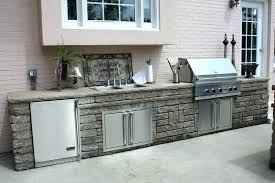 outdoor kitchen fridge uk outdoor kitchen fridge canada staless