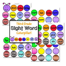 Third Grade Dolch Sight Words Third Grade Dolch Sight Word Cards Confessions Of A Homeschooler