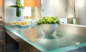 glass kitchen countertops recycled reviews