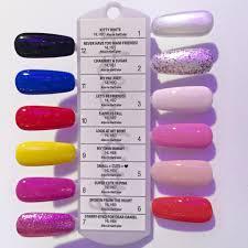 Opi Gel Nail Polish Colors Chart Nail Polish Opi Color Chart