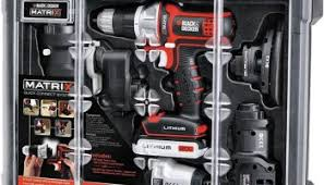 black and decker tools. black \u0026 decker matrix tool kit - holiday 2014 bundle and tools