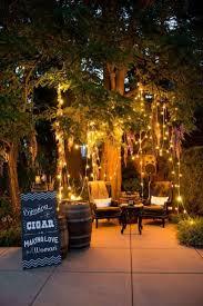 garden outdoor night party decoration ideas