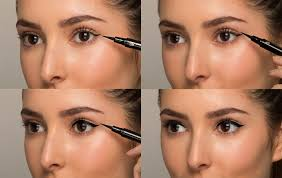 with almond eyes make sure the lines aren t too thick as you can see most of the mobile lid its easy to get carried away and make the liner look too