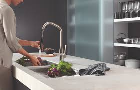 Dornbracht Kitchen Faucets Robinson Lighting Bath Centre Sync Up Luxury Design And Function