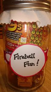 fireball fun jar yankee swap mason jar gifts potluck crafts