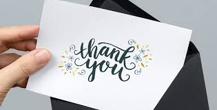 Freebie Printable Thank You Card