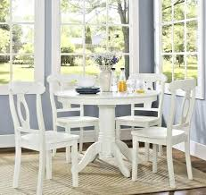 white round table set details about breakfast nook dining table set 4 chairs white round pedestal 5 piece kitchen red and white table set up