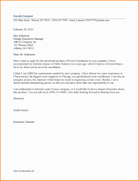 Word Cover Letter Template Free Event Letter Template Business Opportunity Program