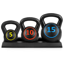 Weights Measures Chart Best Choice Products 3 Piece Hdpe Kettlebell Exercise Fitness Weight Set W 5lb 10lb 15lb Weights Base Rack