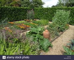 Kitchen Garden Companion Raised Bed Plots Kitchen Garden With Companion Plants To Deter