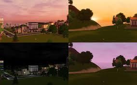 mod the sims  environment lighting tweaks v  v gold