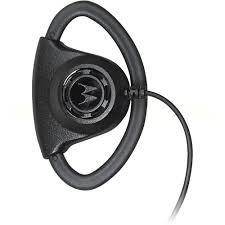 motorola earpiece. motorola pmln6757a adjustable d-loop style earpiece o