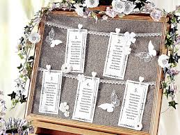 Thrifty Ideas How To Make A Vintage Wedding Seating Chart
