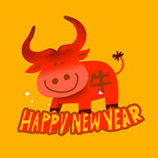 Vietnam lunar new year year of the ox happy new year yellow lantern watermelon and new year brown abstract xiangyun illustration. Year Of The Ox Gifs Get The Best Gif On Giphy