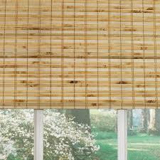 Incredible Lowe Bamboo Roman Shade Gorgeous Window Covering