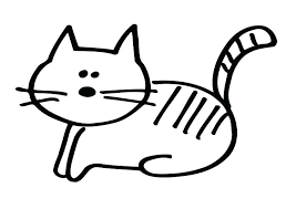 Fat Cat Coloring Pages Printable Coloring Page Of Cat Coloring Page