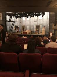 Broadhurst Theatre Section Orchestra L Row P Seat 12