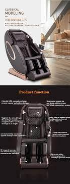 Elektrikli uzay kabin ev masaj koltuğu tam vücut çok fonksiyonlu lüks  akıllı tam otomatik kanepe sandalye Massage Chair