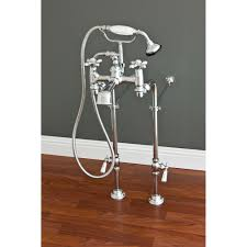 home freestanding tub faucet with handshower