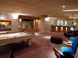game room lighting ideas. view in gallery combine focused lighting with recessed lights game room ideas e
