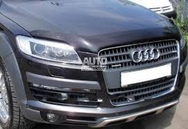 <b>Дефлектор капота темный</b> Audi Q7 2007- EGR Австралия 20101 ...