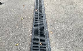 how to install a channel drain