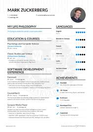 Mark Zuckerberg Resume Template Best of Mark Zuckerberg Software Developer Resume Example Enhancv