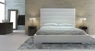 white modern platform bed. Prince Bed White Modern Platform