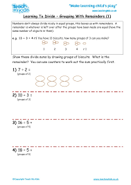 Division Worksheets, KS2 Numeracy, Homework, Maths Activities - TMKed