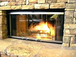 wood burning fireplace glass doors arched fireplace glass doors medium size of arch wood burning for cleaning wood burning stove glass door