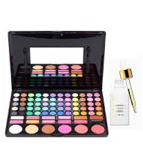 mac imported 78 shade professional full makeup kit farsali serum face 298 gm