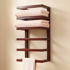 Unique Towel Rack for Cute Bathroom Wall Idea, Free Standing towel ...