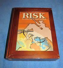 Risk Board Game Wooden Box risk board game wooden box eBay 23