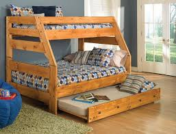 image of twin over full bunk bed plans storage