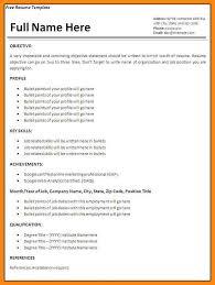 Resume For Job Application Format | Resume Format And Resume Maker