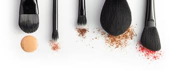 beautycounter brushes with makeup