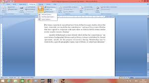 How To Use Ms Word For Citing Your References