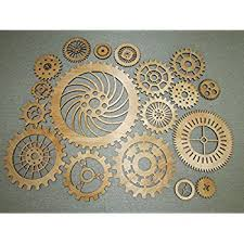 peachy design steampunk wall decor home ideas amazon com lot of 3 wood wooden gears art on steampunk wall art diy with steampunk wall decor japs fo