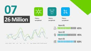 Powerpoint Chart Animation Free Animated Business Infographics Powerpoint Template