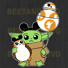 Baby Yoda Star War High Quality Svg Cut Files Best For Unique Craft Beetanosvg Scalable Vector Graphics
