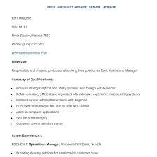 Sample Resume For Banking Job Resume Bank Job Resume Sample