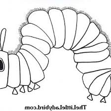 Hungry Caterpillar Butterfly Coloring Page New Very Hungry