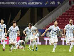 Face Brazil in Copa America Final