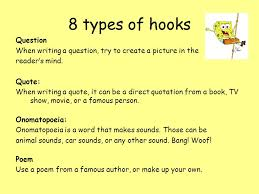 types of hooks for essays different types of hooks for essays