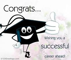 congratulations to graduate successful career free congratulations ecards greeting cards