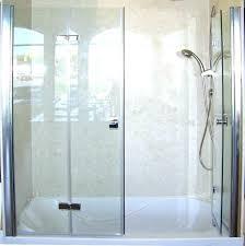 bi fold glass shower doors folding glass shower doors frameless sliding bi fold shower doors