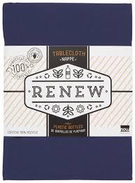 Now Designs Retailer Indigo Renew Tablecloth 55 X 55 Inch
