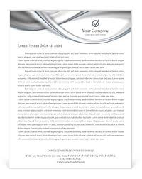 letterhead in word format silver abstract waves letterhead template design id 0000001841