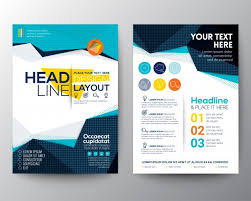 tamplate brochure template design vector free download