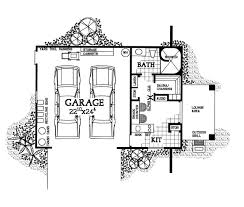 Pool House Garage Plans Architectural Designs